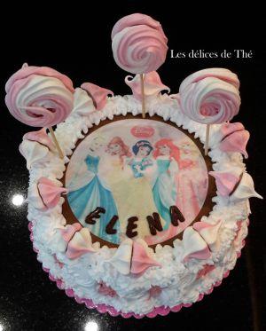 Recette Gâteau Princesse