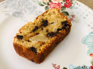Recette Cake poire, noisette et chocolat de Naomi