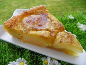 Recette Tarte flan aux poires (thermomix)