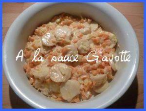 Recette Coquilles St Jacques aux légumes cuits dans du vin blanc