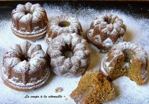 Recette Gâteaux au sucre muscovado