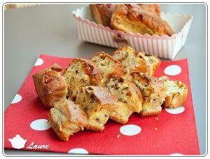 Recette Cake à la courgette, jambon et ricotta