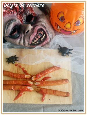 Recette Doigts de sorcière ... pour Halloween