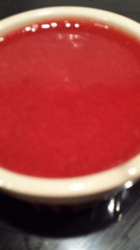 Recette Coulis de fraises