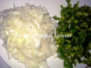 Recette Poulet fumé aux légumes_La cuisine camerounaise