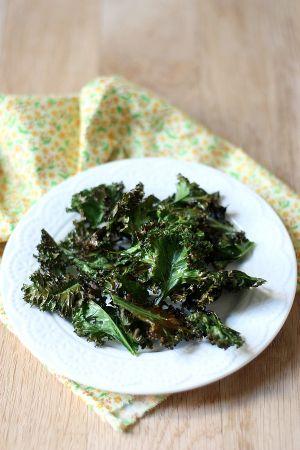 Recette Chips de kale