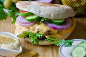 Recette Batbout façon Burger (recette expresse)
