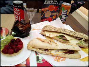 Recette Déjeuner a la croissanterie [#food #lacroissanterie #sandwich]