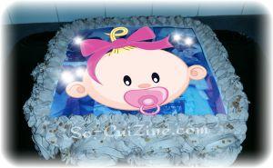 Recette Cake Design : Rose Cake