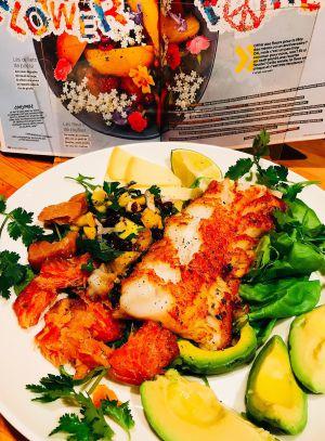 Recette Salade de poisson cajun