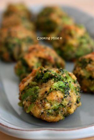 Recette Croquettes de brocolis