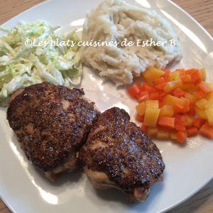 Recette Hauts de cuisses de poulet à l'ancienne