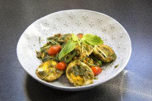 Recette L'œuf et la poule ; Œufs durs épicés sautés à la thaïlandaise