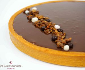 Recette Tarte Choco Crousty
