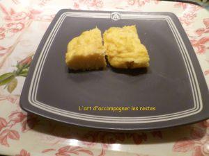 Recette Polenta crémeuse au parmesan