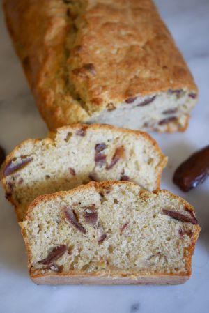 Recette Cake aux dattes sans gluten