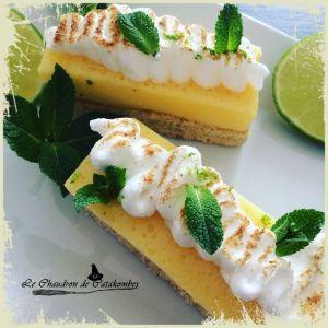 Recette Tartelettes citron & biscuit noisette