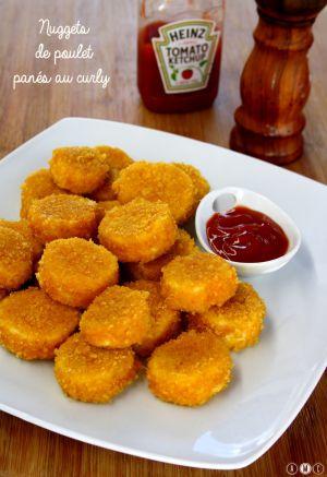 Recette Nuggets de poulet panés aux curly