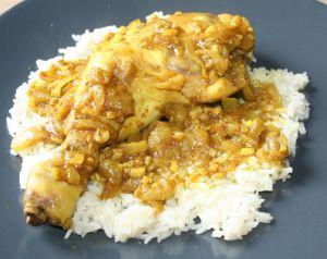 Recette Cuisse de poulet vindaloo