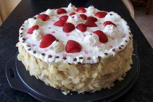 Recette Gâteaux aux fraises