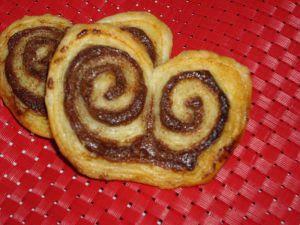 Recette Palmier au Nutella