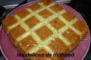 Recette Gâteau au jambon