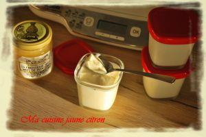 Recette Yaourts au miel à la Multidélices