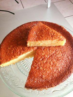 Recette Gâteau au lait ou Gâteau au yaourt sans yaourt