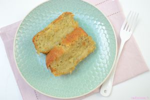 Recette Cake rhubarbe gingembre… et les roses de Chaalis