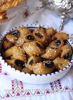 Recette Mini Makrout aux dattes / Mekroud aux dattes et miel