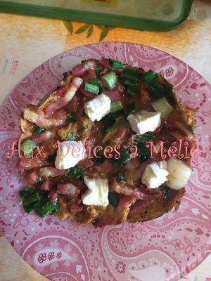 Recette Omelette à Mélie
