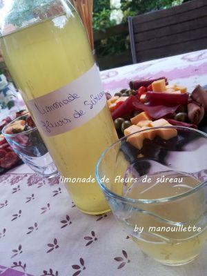 Recette Limonade aux fleurs de sûreau