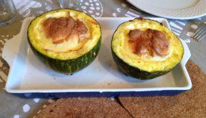 Recette Cuisine des restes : cucurbitacée bizarre du jardin aux restes de poulet