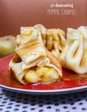 Recette Aumônières pommes caramel au beurre salé