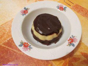 Recette Gâteaux de semoule chocolat vanille