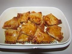 Recette Friandise au amande et miel