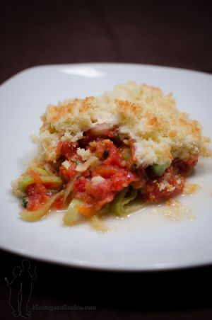 Recette Crumble italien