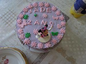Recette Gâteau d'anniversaire à la fraise