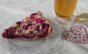 Recette Tarte crumble aux fruits rouges sans gluten ni lactose aux fruits rouges