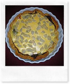 Recette Tarte poires / Nutella