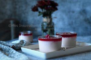 Recette Mahalabiya à la grenade, crème au lait orientale