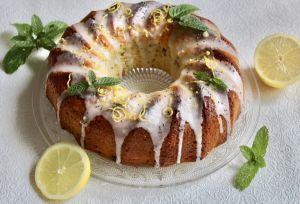 Recette Couronne au citron et aux grains de chia