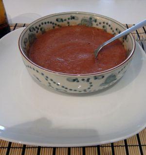 Recette Soupe rouge