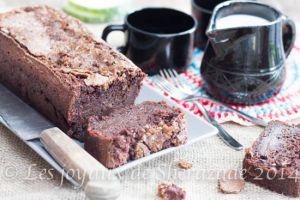 Recette Cake au chocolat , courgettes