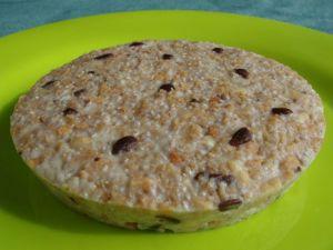 Recette Gâteau de céréales moelleux au Chia (sans cuisson)