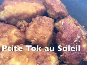 Recette Nuggets de poulet aigre doux