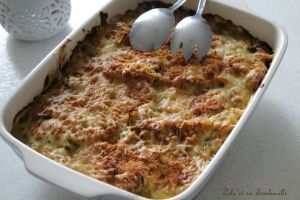 Recette Gratinée de poireaux Franc-Comtoise