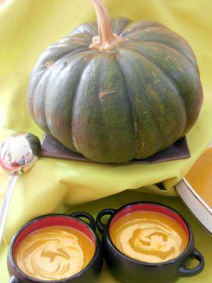 Recette Soupe Citrouille & Riz