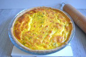 Recette Tarte aux lentilles corail et au curry de légumes