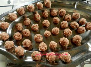 Recette Minis boulettes de viande